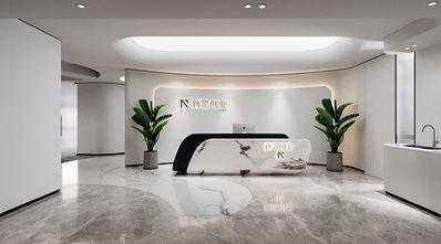 豪华型140平米公装风格客厅设计图