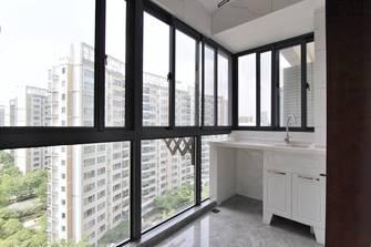 经济型140平米三室两厅中式风格阳台图片大全