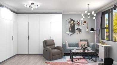 富裕型30平米小户型轻奢风格客厅效果图