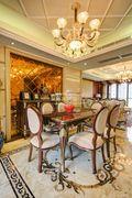 140平米四室三厅欧式风格餐厅装修效果图
