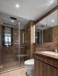 富裕型90平米三现代简约风格卫生间装修效果图