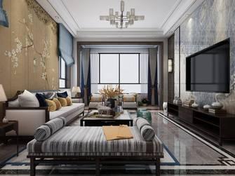 20万以上140平米复式现代简约风格客厅图