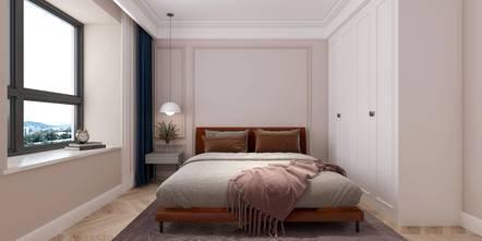 三室一厅法式风格卧室图片大全