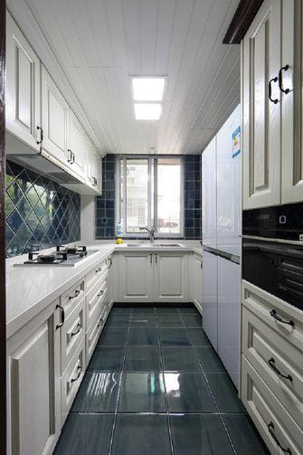 经济型100平米三室一厅新古典风格厨房欣赏图
