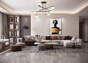 140平米别墅轻奢风格客厅装修案例