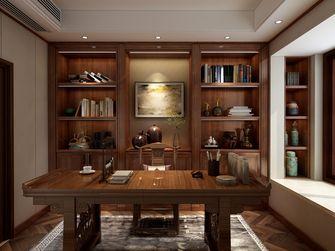 富裕型140平米四中式风格书房图片