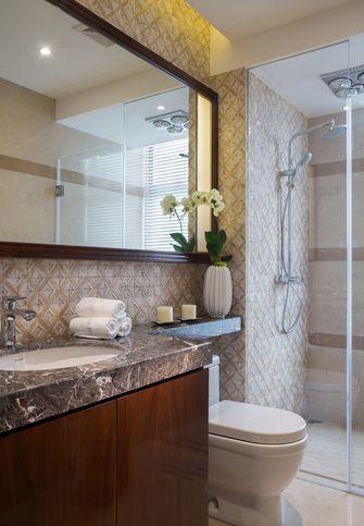 富裕型110平米三中式风格卫生间欣赏图