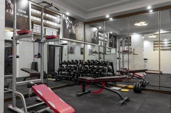 美式风格健身房图片大全