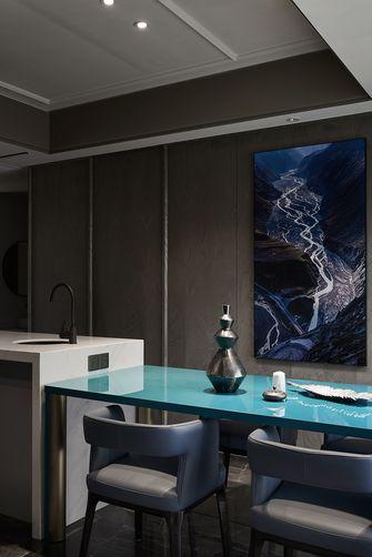 经济型120平米三室两厅法式风格餐厅图