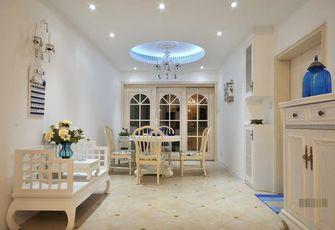 富裕型120平米三室一厅田园风格客厅欣赏图