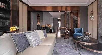 经济型110平米三室一厅港式风格客厅图片