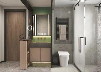 5-10万60平米公寓现代简约风格卫生间图片