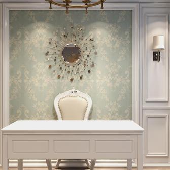 富裕型80平米三室一厅现代简约风格书房设计图