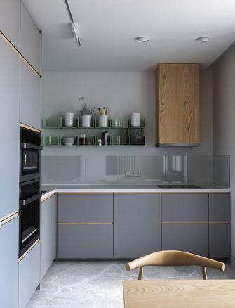 富裕型90平米四室一厅现代简约风格厨房装修效果图