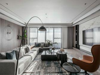 富裕型120平米三室两厅地中海风格客厅效果图