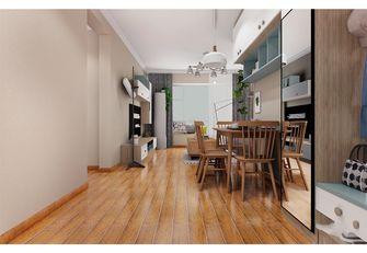 10-15万120平米三室一厅现代简约风格餐厅图