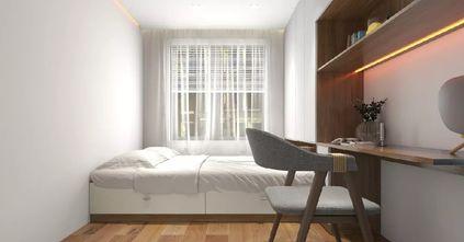 豪华型120平米三室三厅日式风格卧室装修图片大全
