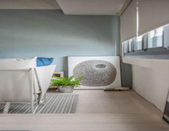 经济型50平米一居室混搭风格阳台装修图片大全