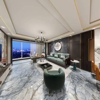 20万以上130平米三室三厅港式风格客厅装修效果图