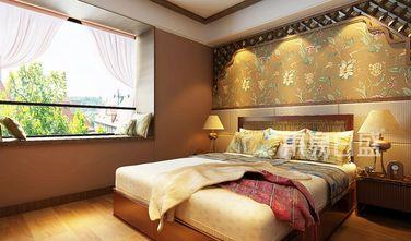 20万以上80平米东南亚风格卧室设计图