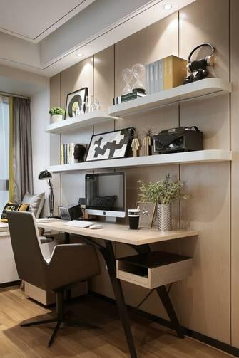 豪华型140平米四室两厅北欧风格书房图片