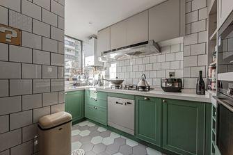 经济型110平米工业风风格厨房设计图