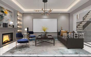 豪华型140平米别墅美式风格影音室装修效果图