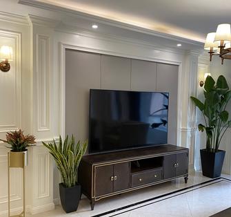 100平米美式风格客厅装修效果图