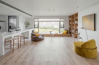 10-15万120平米三室两厅北欧风格客厅装修图片大全