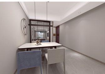 140平米三室三厅现代简约风格餐厅装修图片大全