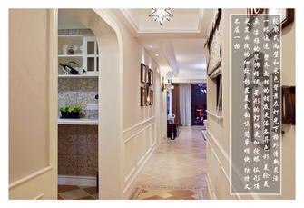 20万以上140平米三美式风格走廊装修案例