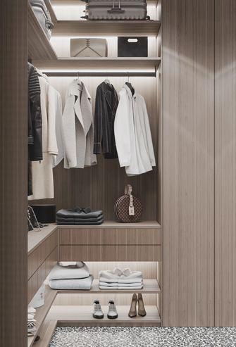经济型60平米一室两厅现代简约风格衣帽间装修案例