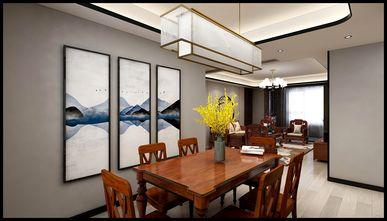 豪华型110平米三室三厅中式风格餐厅图片大全