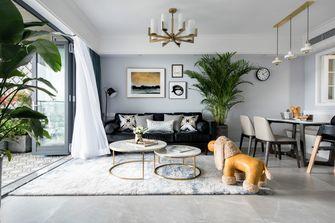 富裕型140平米四北欧风格客厅装修案例