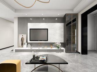 三室一厅轻奢风格客厅装修效果图