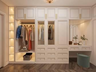 20万以上140平米三室一厅法式风格衣帽间效果图