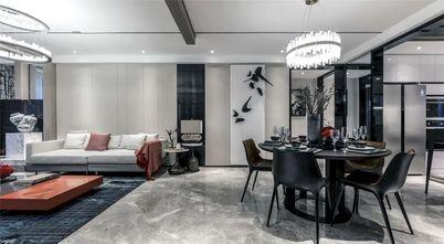 5-10万120平米三室一厅轻奢风格餐厅图片大全