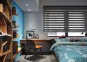 富裕型50平米公寓混搭风格卧室设计图