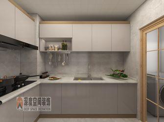 经济型90平米三室两厅日式风格厨房装修案例