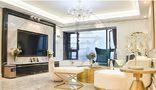 富裕型140平米四现代简约风格客厅装修效果图