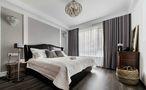 5-10万90平米三工业风风格卧室装修效果图