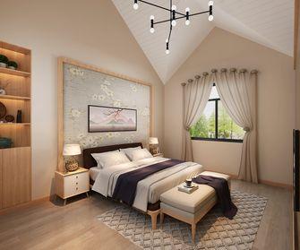 90平米公寓日式风格卧室装修案例