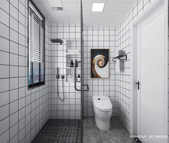 110平米三室一厅北欧风格卫生间图