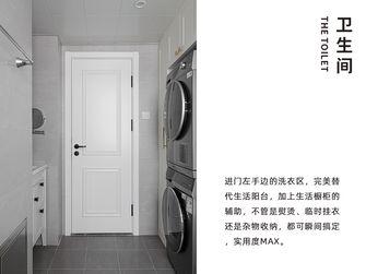 110平米三室两厅美式风格卫生间装修图片大全