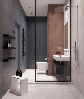 豪华型一室一厅现代简约风格卫生间图