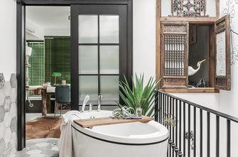 经济型140平米三室两厅混搭风格卫生间图片