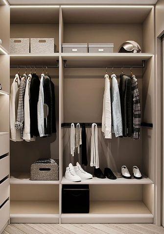 豪华型三室一厅现代简约风格衣帽间装修案例