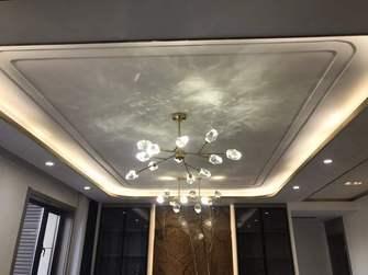 140平米三室三厅轻奢风格餐厅装修案例