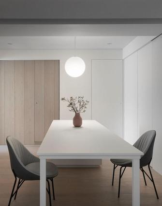 富裕型100平米三室两厅日式风格餐厅效果图