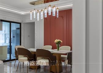 20万以上140平米四室两厅轻奢风格餐厅装修案例